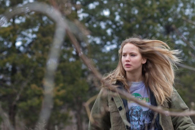 Jennifer Lawrence starred in Winter's Bone in 2010.