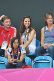 Kate Middleton looked stand in the stands.