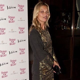 Kate Moss and Naomi Campbell Olympics Dinner | Pictures