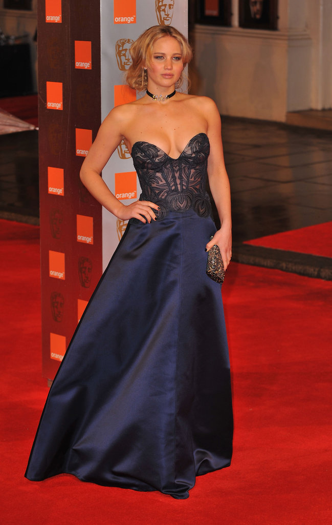 Jennifer Lawrence attended the Orange British Academy Film Awards at The Royal Opera House in February 2011 in London.