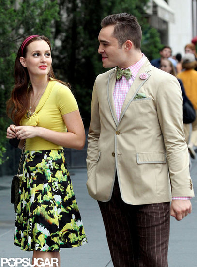 Gossip Girl's Blair and Chuck Put on a Fashionable Show