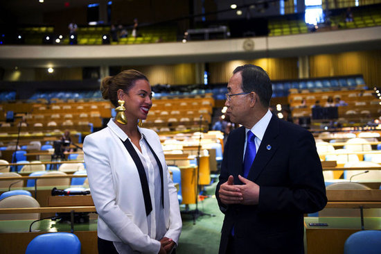 Beyoncé Links Up With the UN For World Humanitarian Day