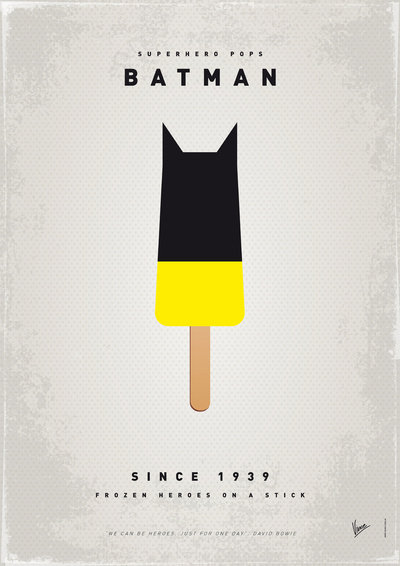 My Superhero Ice Pop: Batman ($18 to $55)