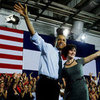 Barack Obama With Sandra Fluke in Denver