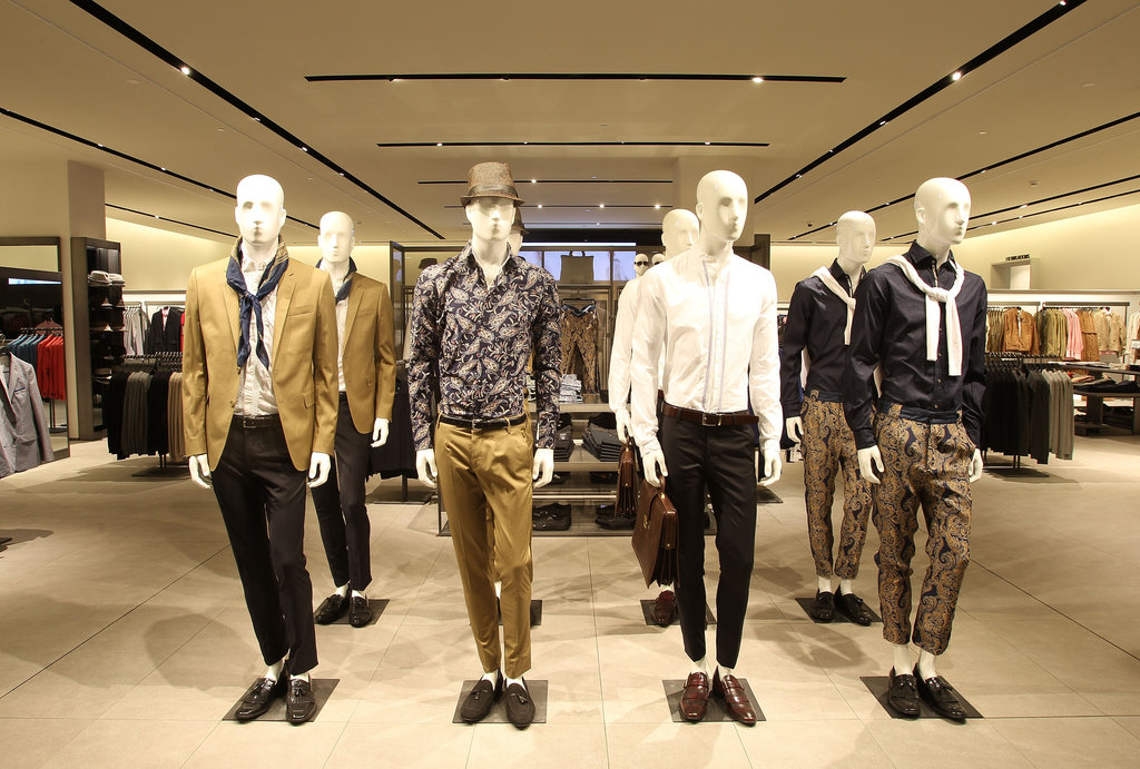 Zara man — lookin' good! Ground floor.
