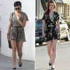 Floral Rompers (Celebrity Pictures and Shopping)