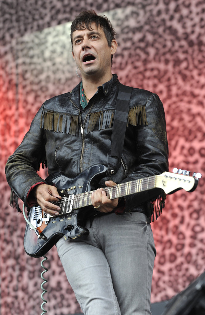 The Kills' Jamie Hince played guitar on day two.