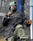 """Big Boi performed his own songs as well as some OutKast hits like """"Bombs Over Baghdad."""""""