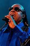 Stevie Wonder played a nearly two-hour set on Sunday evening.
