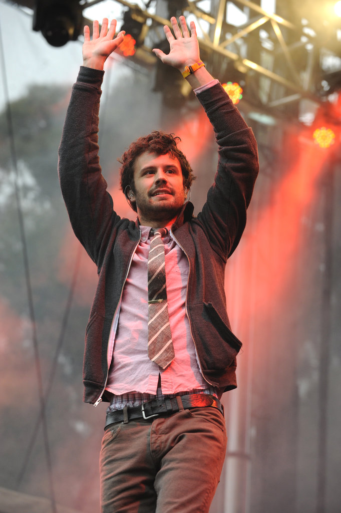 Passion Pit played songs from their most recent album.