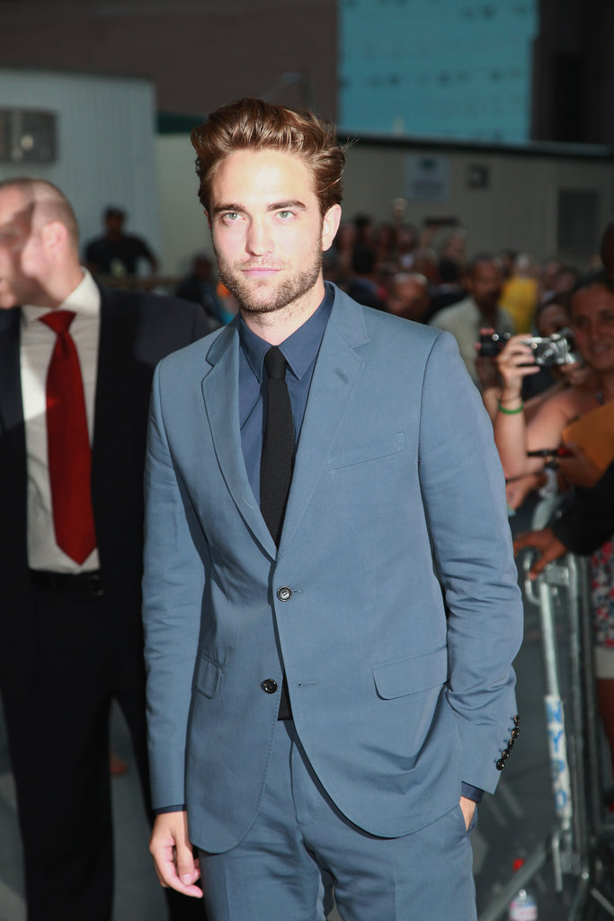 Hot Robert Pattinson Emerges For Cosmopolis Premiere in NYC!