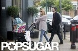 Sienna Miller and Tom Sturridge Take Marlowe Out to Lunch