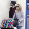Sienna Miller and Tom Sturridge Walk With Their Baby