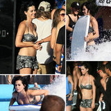 Katy Perry Sports a Bikini During a Day at a Water Park