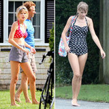 Taylor Swift Rocks a Bikini Top on the Cape With Her Kennedy