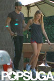Blake Lively and Ryan Reynolds Show PDA Post-Workout