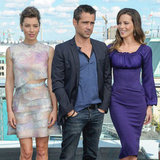 Jessica Biel, Kate Beckinsale and Colin Farrell Pictures at Total Recall Berlin Photo Call