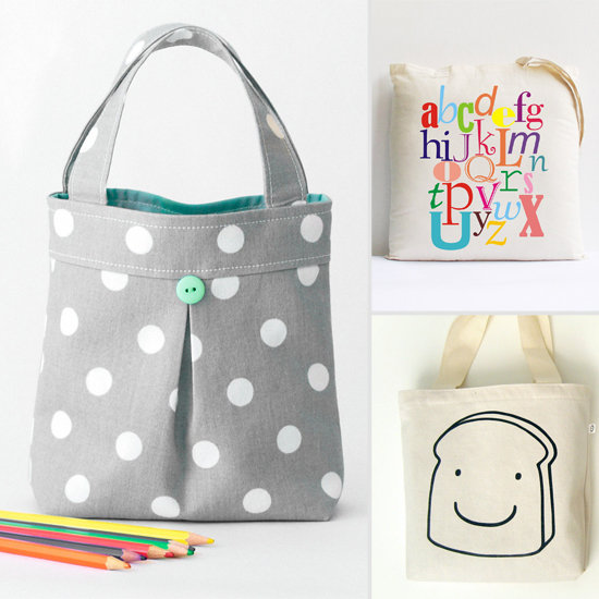 Cute Handmade Totes For Tots
