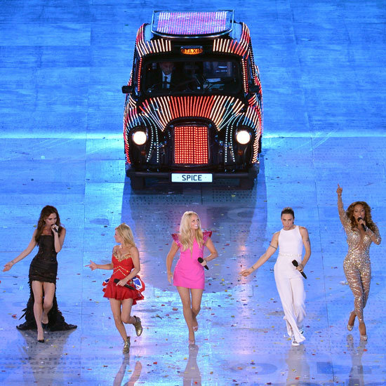 The Spice Girls Reunite in Style for the London Olympics Closing Ceremony