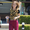 AnnaLynne McCord Wearing Fuchsia Pants (90210)