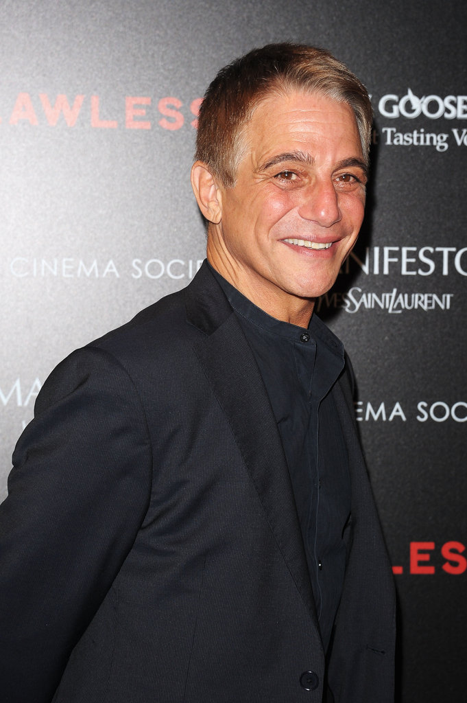 Tony Danza was in attendance at the screening of Lawless in NYC.