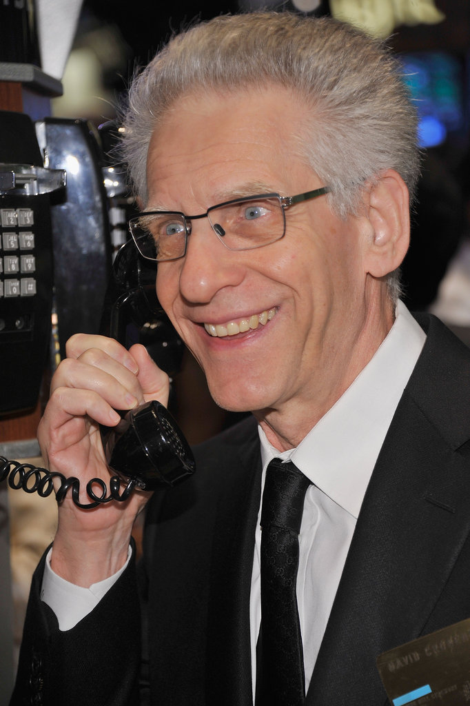 David Cronenberg visited the New York Stock Exchange.