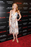 Patricia Clarkson arrived at the screening of Lawless in NYC.