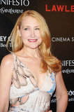Patricia Clarkson smiled at the screening of Lawless in NYC.