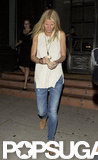 Gwyneth Paltrow dined at Tavern.