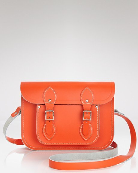 Academia meets fashion with this Cambridge Satchel  from Bloomingdales ($155). This bright bag would perfectly compliment pleated pants and oxfords.   – Colleen Doyle, Editorial Intern