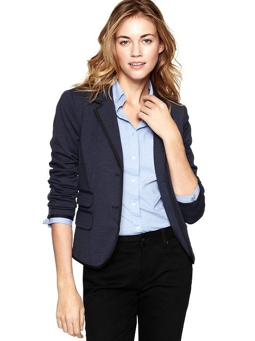 Back-to-school staple: Gap Ponte Academy Blazer ($88) Why it shouldn't be overlooked: If our ode to blazers didn't convince you of this staple's wearability, then let us just say that this particular iteration is polished, professional, and gives you that TA flush.