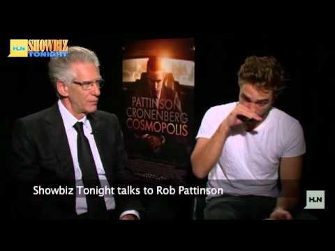 Preview of Robert Pattinson and David Cronenberg Interview with Showbiz TV
