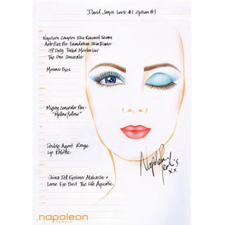 First Look at Napoleon Perdis Beauty Looks for David Jones Spring/Summer 2012 Fashion Launch