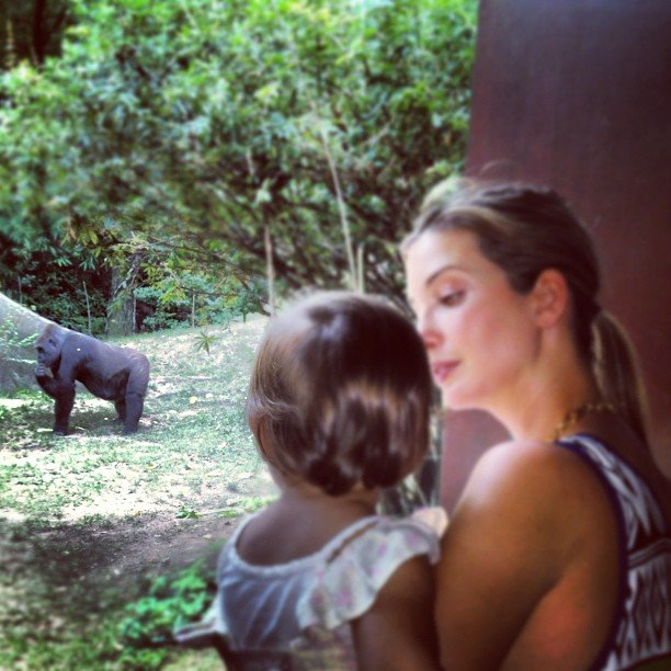 Ivanka Trump brought her baby daughter, Arabella, to the zoo. Source: Instagram user ivankatrump