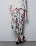 These trousers boast a slouchy fit and gorgeous floral print. Zara Flower Print Trousers ($50)