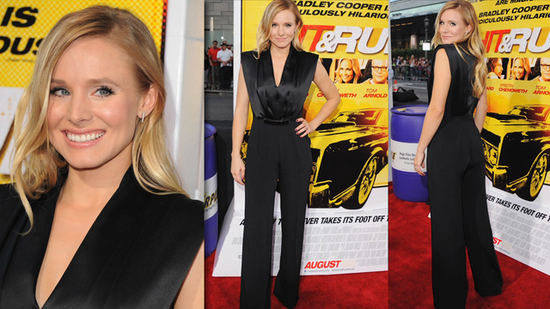 Kristen Bell Brings Menswear to the Red Carpet