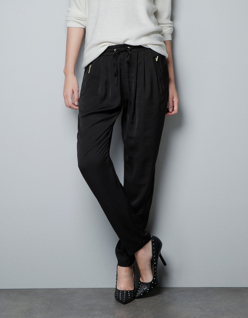 We're in love with these trousers, and the zips only make them that much more edgy and cool. Zara Trousers With Zips ($50)