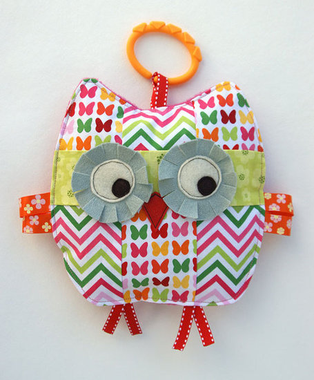 Penelope the Patchwork Owl ($19)