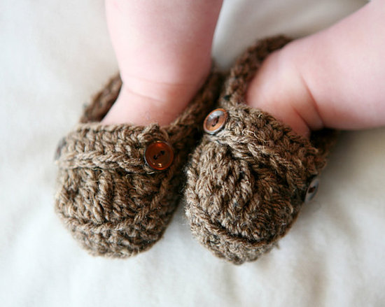 Baby Loafer Booties ($12)