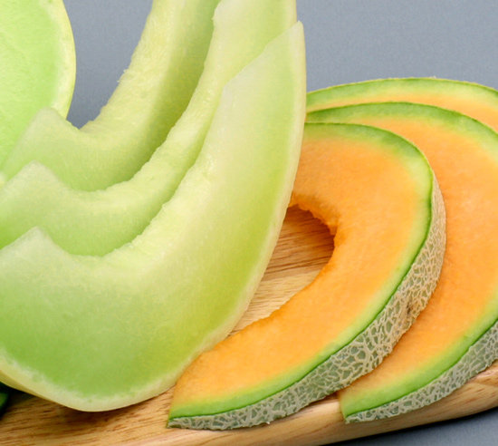 how to cut honeydew and cantaloupe