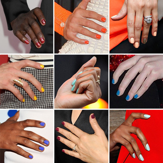 Nail Trends Summer 2012 One Nail Different Color#*^