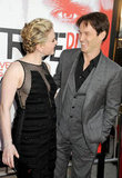 Anna Paquin and Stephen Moyer shared a special glance at the season five LA premiere of True Blood in May 2012.