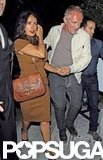 Salma Hayek and Francois-Henri Pinault attended Halle Berry's 46th birthday bash in West Hollywood.