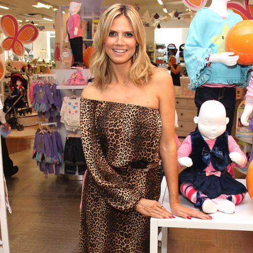 Heidi Klum Launches Truly Scrumptious at Babies R Us