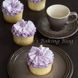 Ruffle Blossom Cupcake
