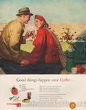 Good things happen over coffee, indeed.