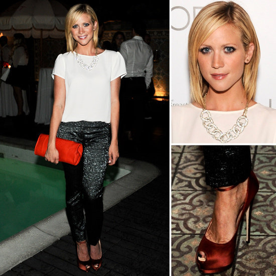 Are you as obsessed as we were with Brittany Snow's head-to-toe LOFT look? It's time to take a closer look at how she did it.