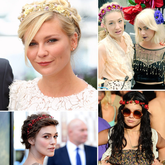 Flowers in our hair — that's what we want after seeing this pretty, celeb-inspired Summer trend in action.
