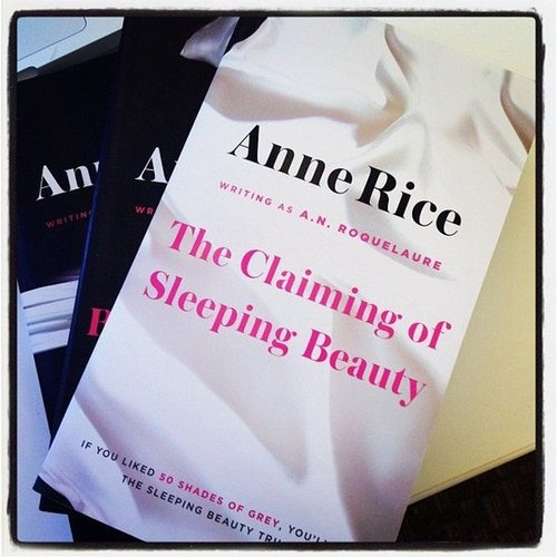 Us over here at POPSUGAR Love & Sex were excited to get Anne Rice's republished erotica trilogy in the mail. The original Fifty Shades.