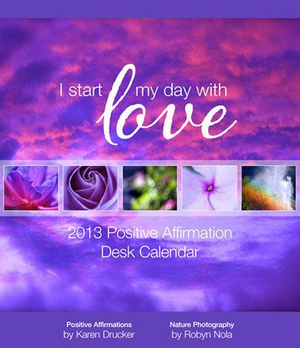 2013 Positive Affirmation Calendar